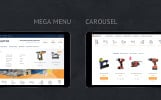 Szablon PrestaShop Młotek dla e-sklepu z narzędziami