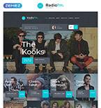 Entertainment Website  Template 58151