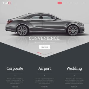 Screenshot of Limousine Limo Service Limousine