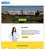 Medical Landing Page  Template 58162