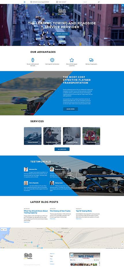 Joomla Theme/Template 58172 Main Page Screenshot