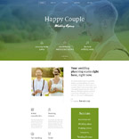 Wedding Website  Template 58176