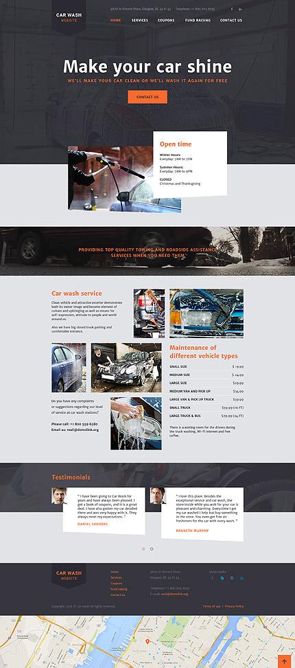 Website Template #58179