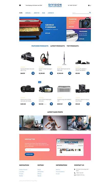 ADOBE Photoshop Template 58180 Home Page Screenshot