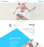 Sport Website  Template 58185