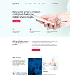 Communications Website  Template 58186