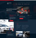 Cars Website  Template 58188