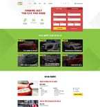 Cars Website  Template 58191