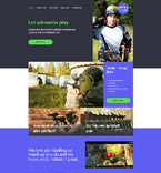 Sport Website  Template 58192
