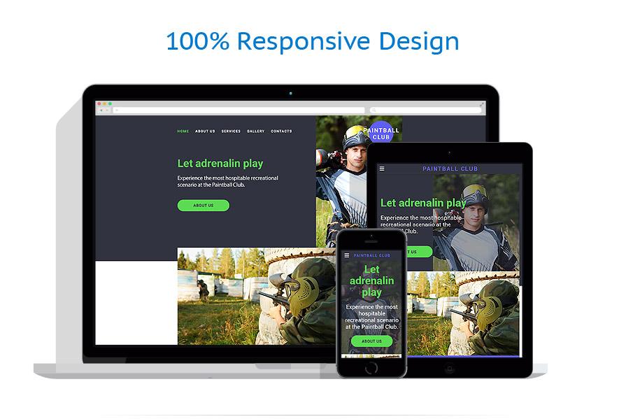 Modèles HTML5 Sport #58192