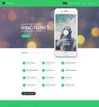 Music Website  Template 58193