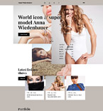 Fashion Website  Template 58195