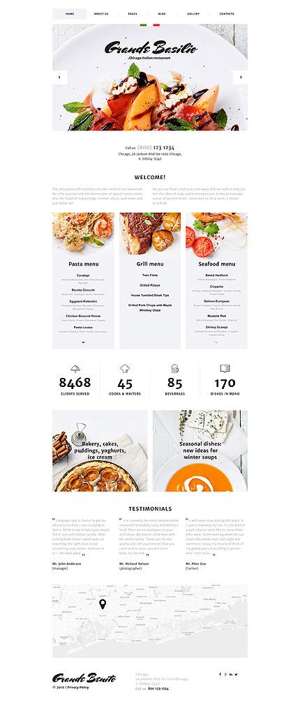 Joomla Theme/Template 58199 Main Page Screenshot