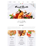 Cafe & Restaurant Joomla  Template 58199
