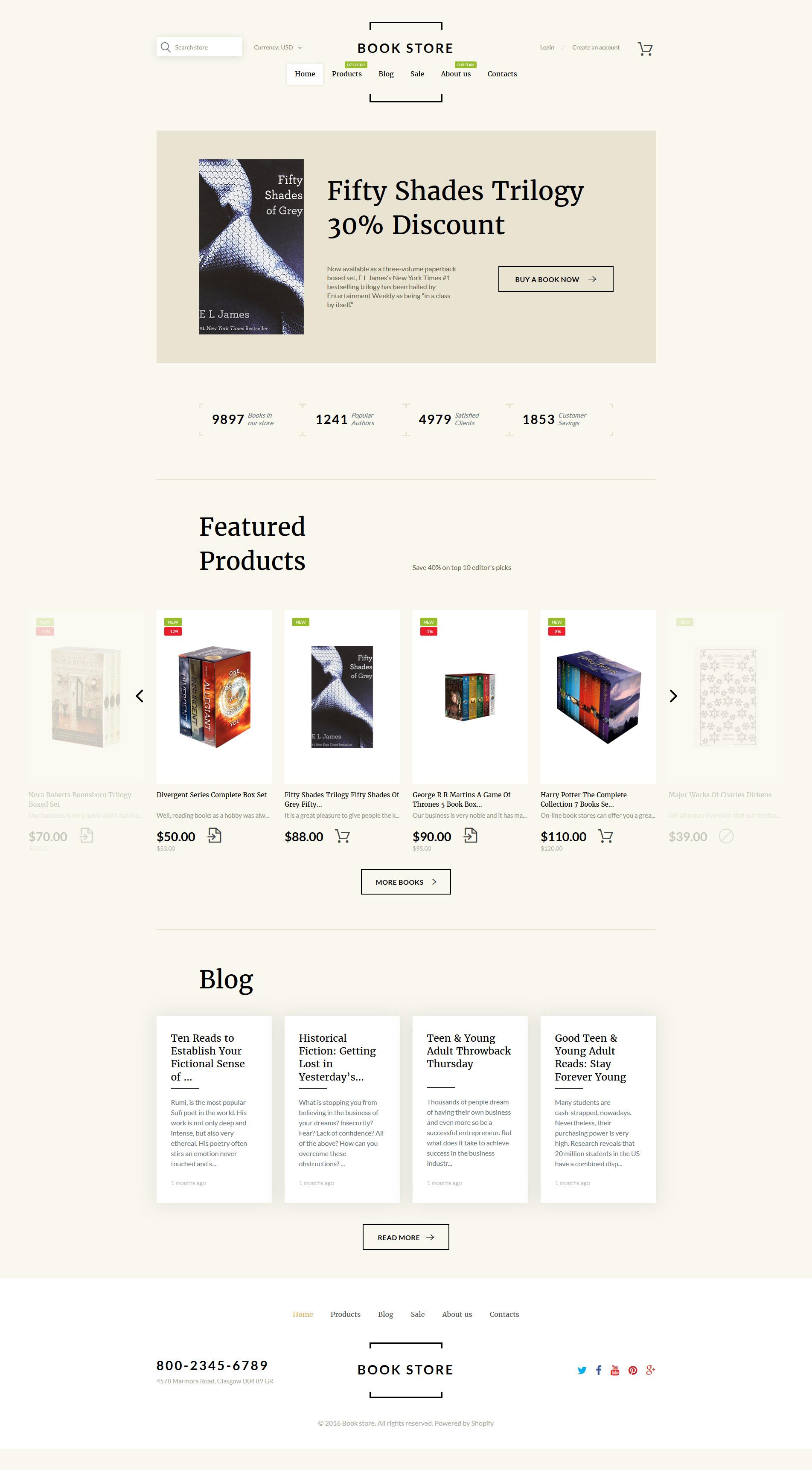 Book Shop Shopify Theme