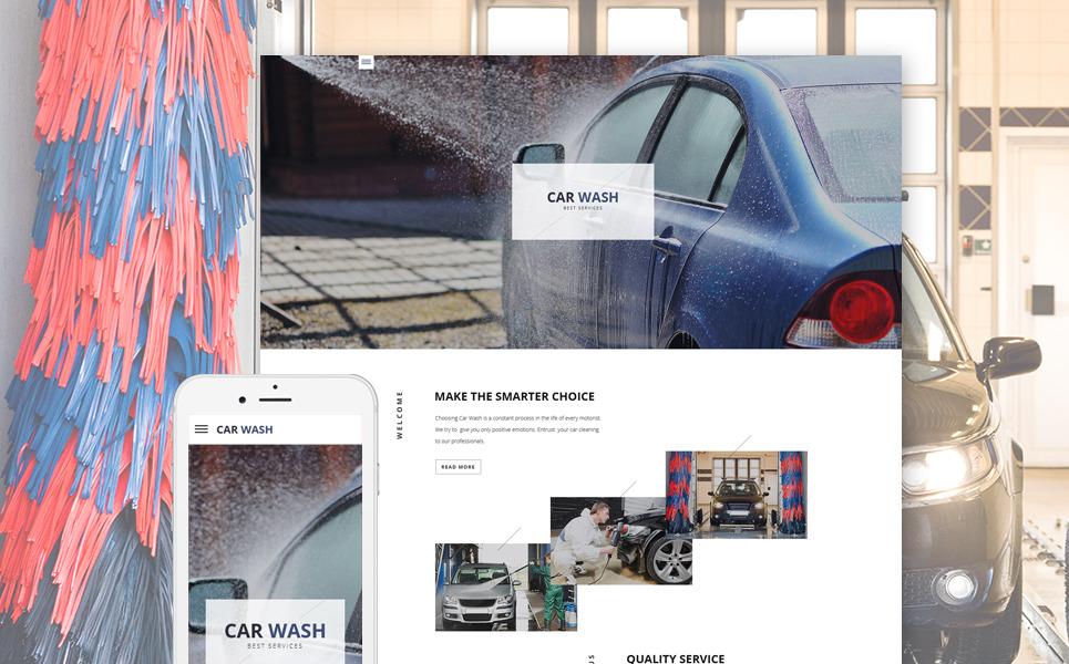 Car Wash Responsive Website Template New Screenshots BIG