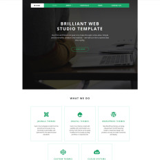 Best Design Studio Website Templates - Photo studio website template