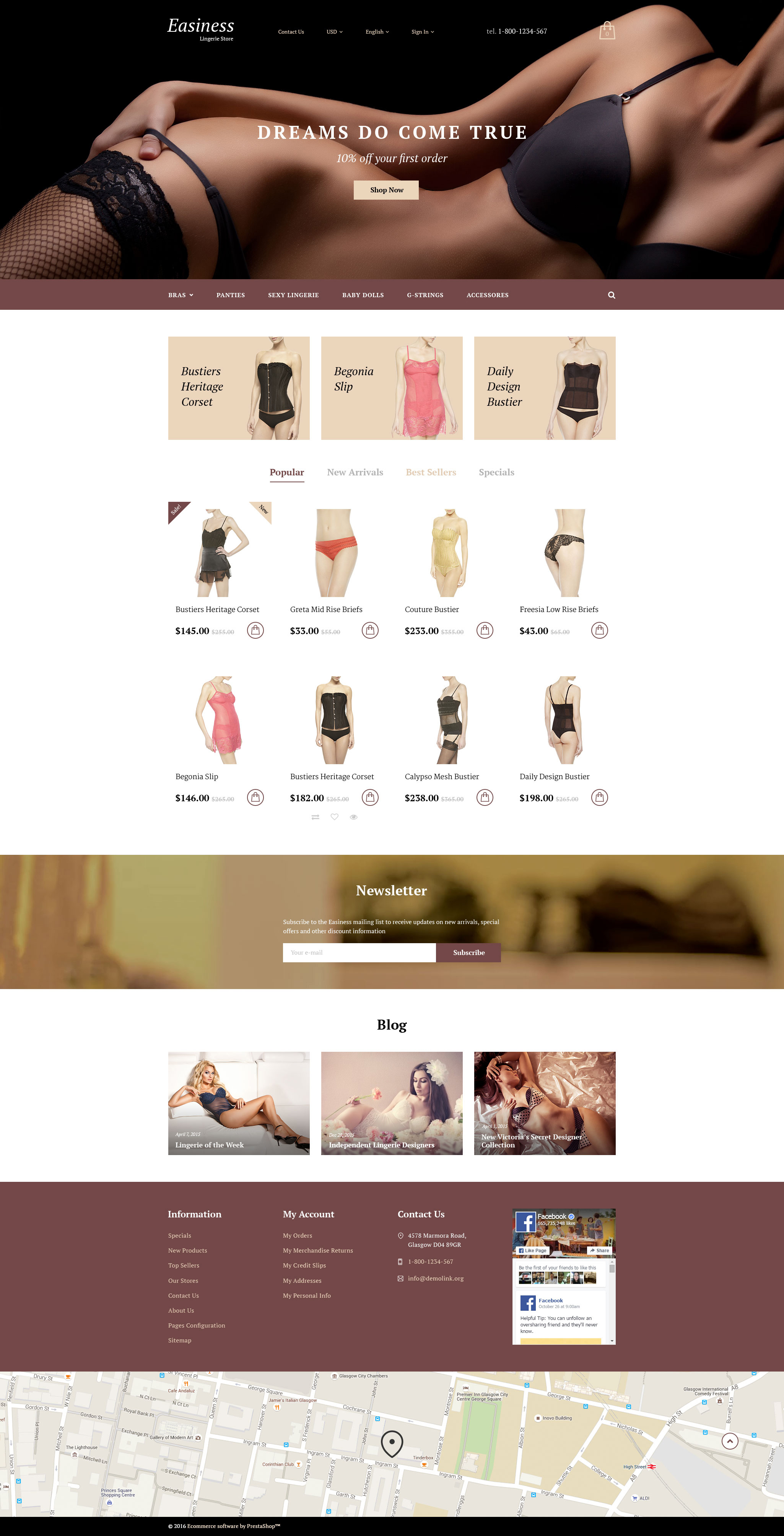 Easiness PrestaShop Theme