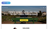 "Landing Page Template namens ""Pamela Holland - Psychologist Clean Bootstrap HTML"""