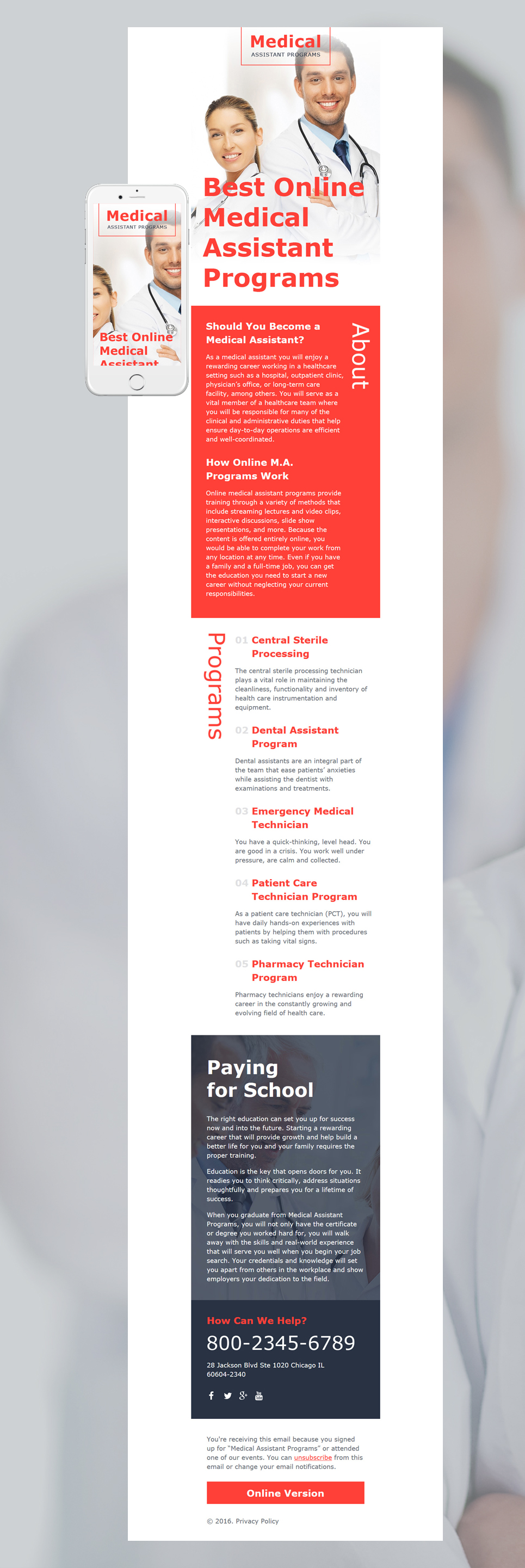 medical-responsive-newsletter-template_58109-big Technical Newsletter Template on fun company, free printable monthly, microsoft word, classroom weekly, free office,