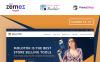 Molotok - PrestaShop шаблон сайту інструментів Великий скріншот