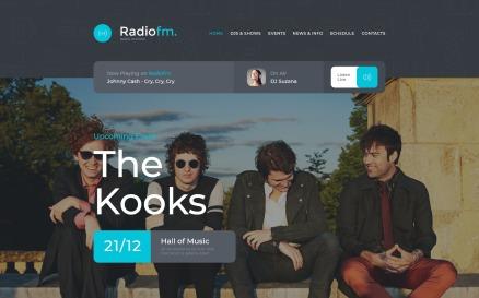 RadioFM Website Template