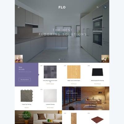 Flooring Responsive OpenCart šablona