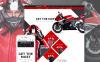 "Responzivní OpenCart šablona ""Motorcycle"" New Screenshots BIG"
