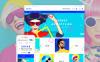 Reszponzív Szemüvegek témakörű  OpenCart sablon New Screenshots BIG