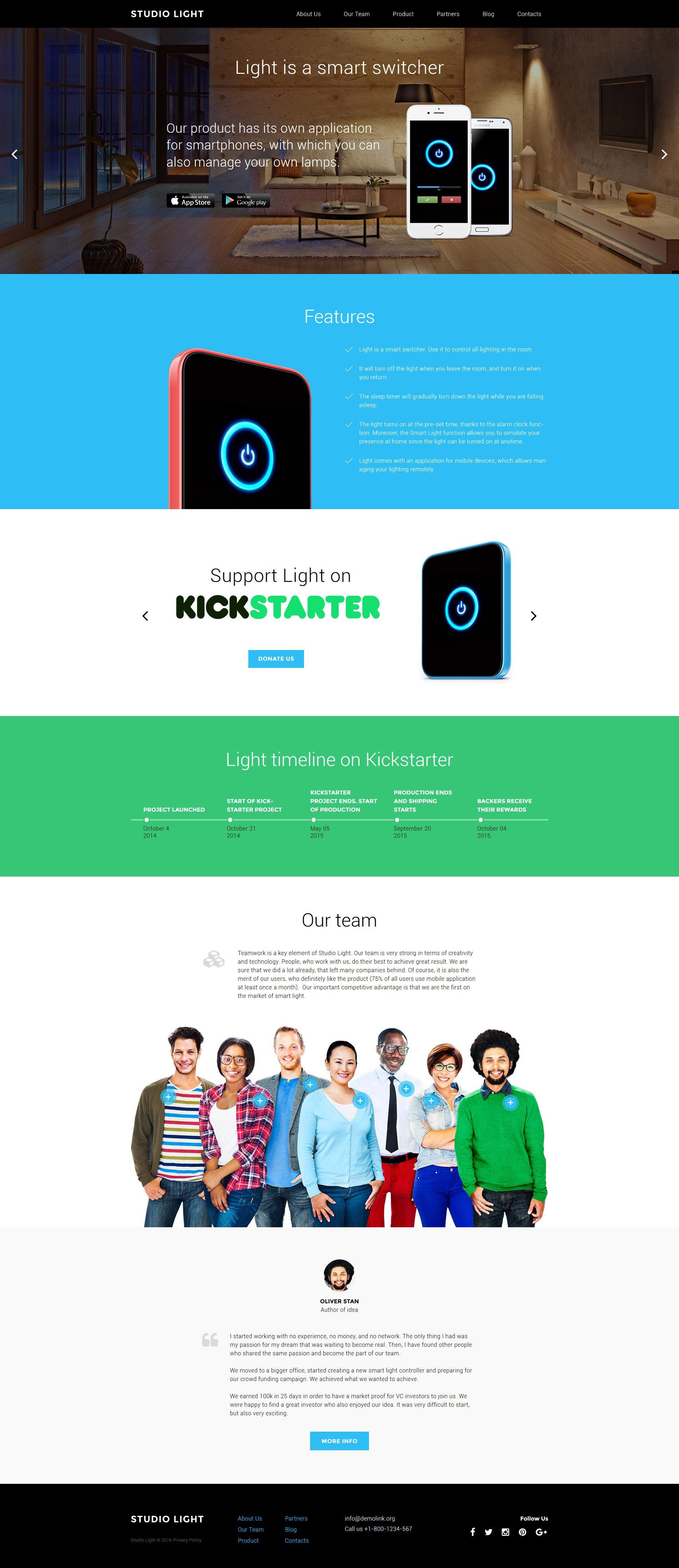 Studio Light Tema WordPress №58187 - screenshot