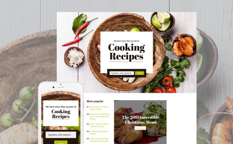 tema di landing page responsive 58167 per un sito di cucina new screenshots big