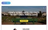"Template di Landing Page Responsive #58162 ""Pamela Holland - Psychologist Clean Bootstrap HTML"""