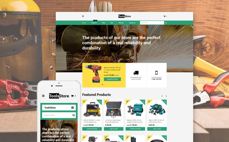 ToolsStore Shopify Theme