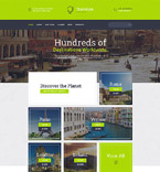 Travel Website  Template 58200