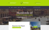 Responsivt Wonder Tour - Travel Agency Multipage HTML Hemsidemall