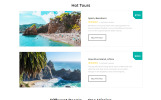 Responsive Wonder Tour - Travel Agency Multipage HTML Web Sitesi Şablonu