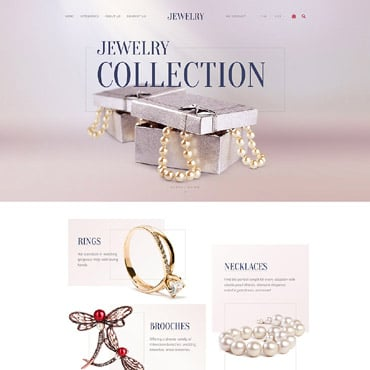 Preview image of Jewelry OpenCart Template No. 58202