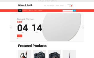 Electronics Store VirtueMart Template
