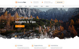 Responsivt Discovery Tour - Travel Multipage Clean HTML Hemsidemall