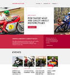 Sport Landing Page  Template 58206