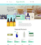 Beauty OpenCart  Template 58207
