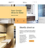 Furniture Landing Page  Template 58212