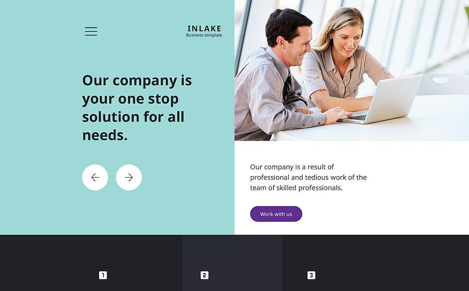 Modello Siti Web Responsive #58214 per Un Sito di Business e Servizi New Screenshots BIG
