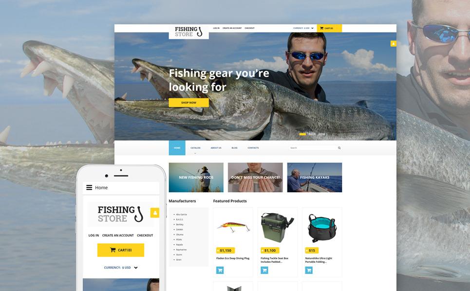 Thème VirtueMart adaptatif  pour site de pêche New Screenshots BIG