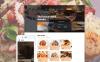 Responsivt Hemsidemall för Cafe och Restaurang New Screenshots BIG