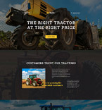 Cars Landing Page  Template 58220