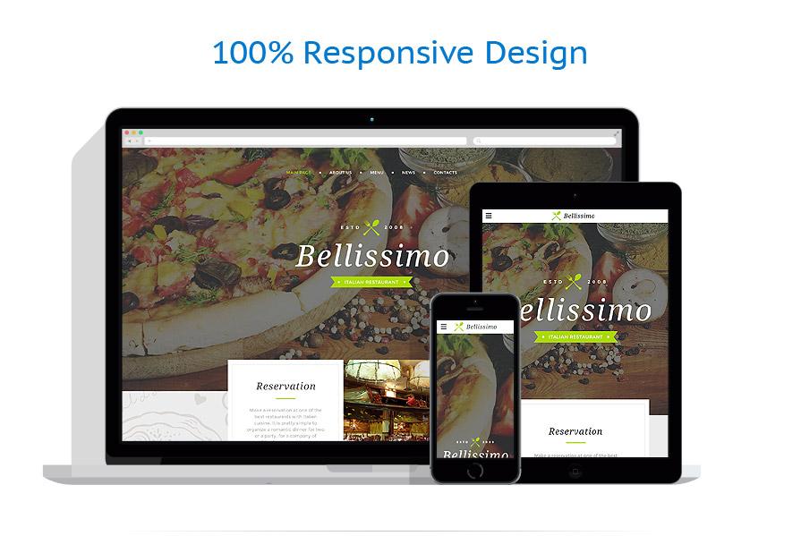 Modèles HTML5 Café et Restaurant #58225