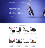 Electronics Shopify Template 58230