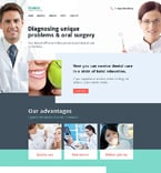 Medical Website  Template 58231