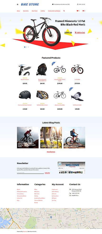 ADOBE Photoshop Template 58232 Home Page Screenshot